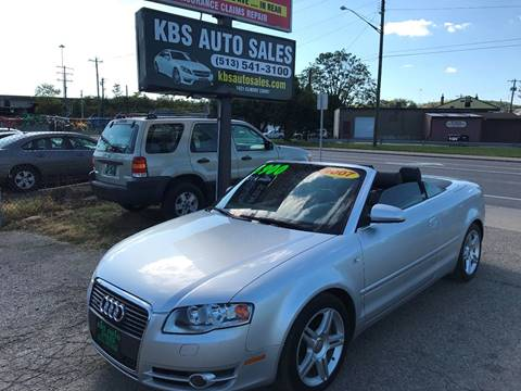 2007 Audi A4 for sale at KBS Auto Sales in Cincinnati OH