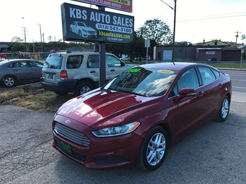 2014 Ford Fusion for sale at KBS Auto Sales in Cincinnati OH