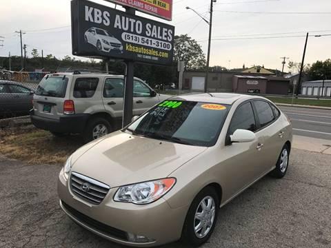 2007 Hyundai Elantra for sale at KBS Auto Sales in Cincinnati OH