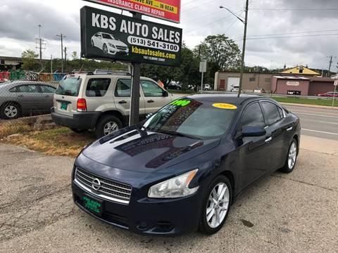 2009 Nissan Maxima for sale at KBS Auto Sales in Cincinnati OH