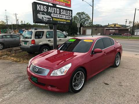 2008 Infiniti G35 for sale at KBS Auto Sales in Cincinnati OH
