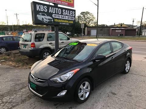 2013 Hyundai Elantra for sale at KBS Auto Sales in Cincinnati OH