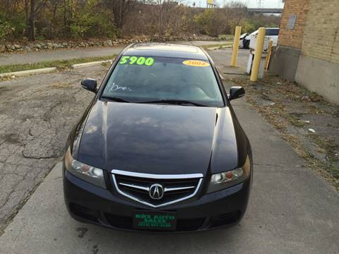 2004 Acura TSX for sale at KBS Auto Sales in Cincinnati OH
