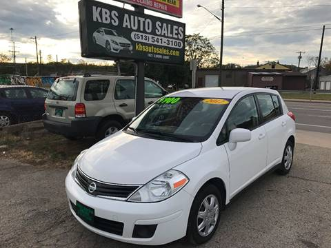 2012 Nissan Versa for sale at KBS Auto Sales in Cincinnati OH