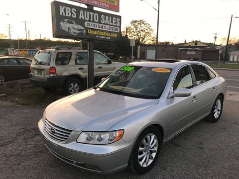 2007 Hyundai Azera for sale at KBS Auto Sales in Cincinnati OH