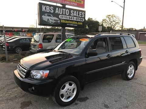 2007 Toyota Highlander for sale at KBS Auto Sales in Cincinnati OH