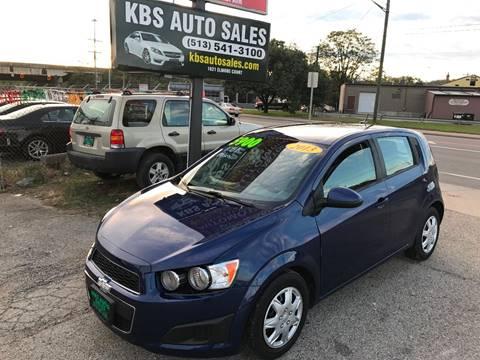 2013 Chevrolet Sonic for sale in Cincinnati, OH