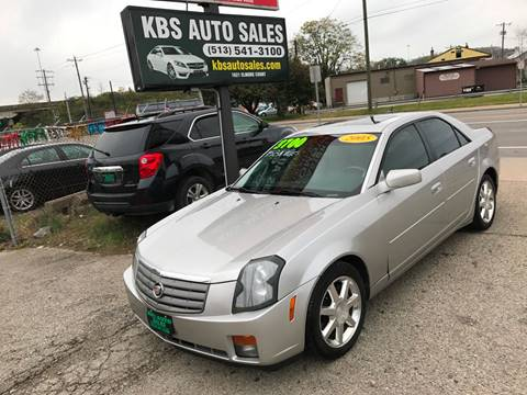 2005 Cadillac CTS for sale at KBS Auto Sales in Cincinnati OH