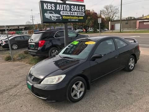 2004 Honda Civic for sale at KBS Auto Sales in Cincinnati OH
