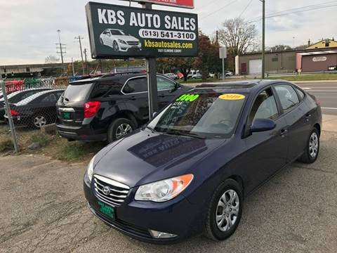 2010 Hyundai Elantra for sale at KBS Auto Sales in Cincinnati OH
