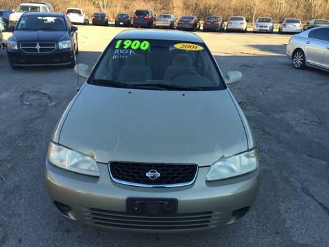 2001 Nissan Sentra for sale at KBS Auto Sales in Cincinnati OH
