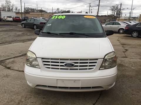 2006 Ford Freestar for sale at KBS Auto Sales in Cincinnati OH