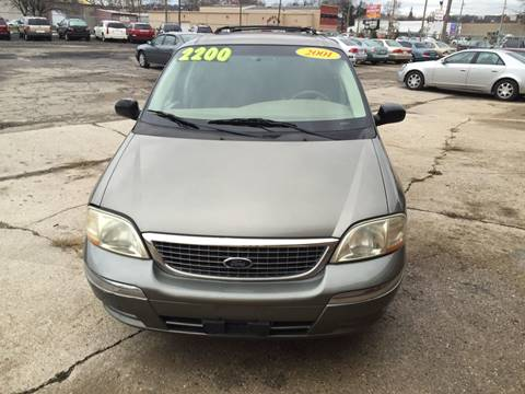2001 Ford Windstar for sale at KBS Auto Sales in Cincinnati OH