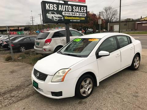 2007 Nissan Sentra for sale at KBS Auto Sales in Cincinnati OH
