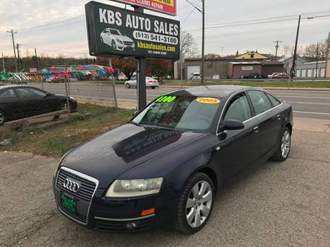 2005 Audi A6 for sale at KBS Auto Sales in Cincinnati OH