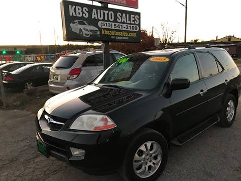 2003 Acura MDX for sale at KBS Auto Sales in Cincinnati OH