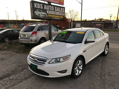2010 Ford Taurus for sale at KBS Auto Sales in Cincinnati OH