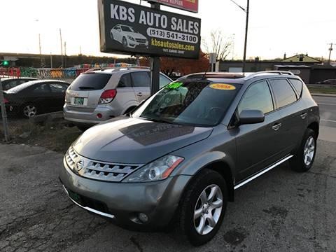 2006 Nissan Murano for sale at KBS Auto Sales in Cincinnati OH