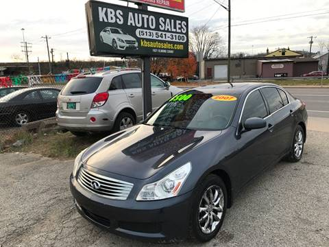 2007 Infiniti G35 for sale at KBS Auto Sales in Cincinnati OH