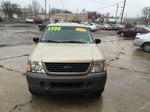 2002 Ford Explorer for sale at KBS Auto Sales in Cincinnati OH