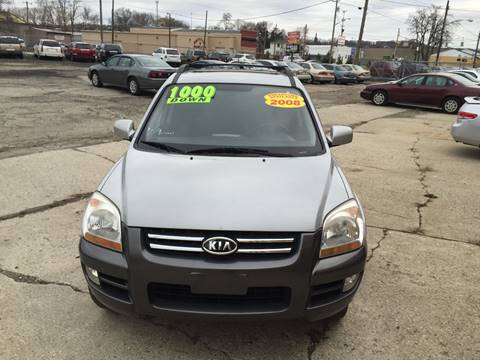 2008 Kia Sportage for sale at KBS Auto Sales in Cincinnati OH