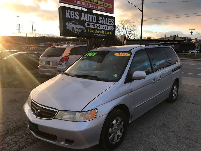 2002 Honda Odyssey EX L 4dr Mini Van W/DVD And Leather