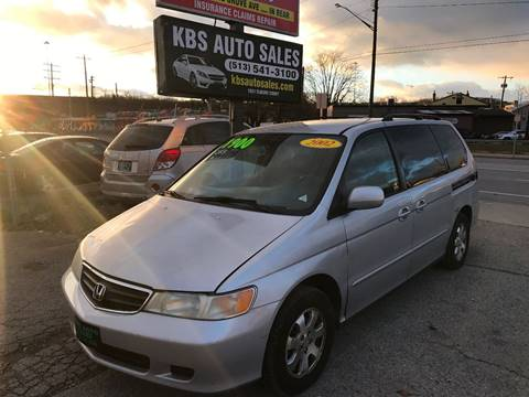 2002 Honda Odyssey for sale at KBS Auto Sales in Cincinnati OH