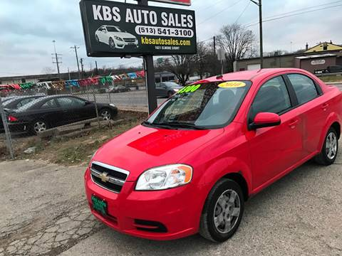 2010 Chevrolet Aveo for sale at KBS Auto Sales in Cincinnati OH