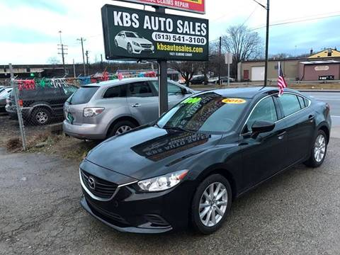 2015 Mazda MAZDA6 for sale at KBS Auto Sales in Cincinnati OH