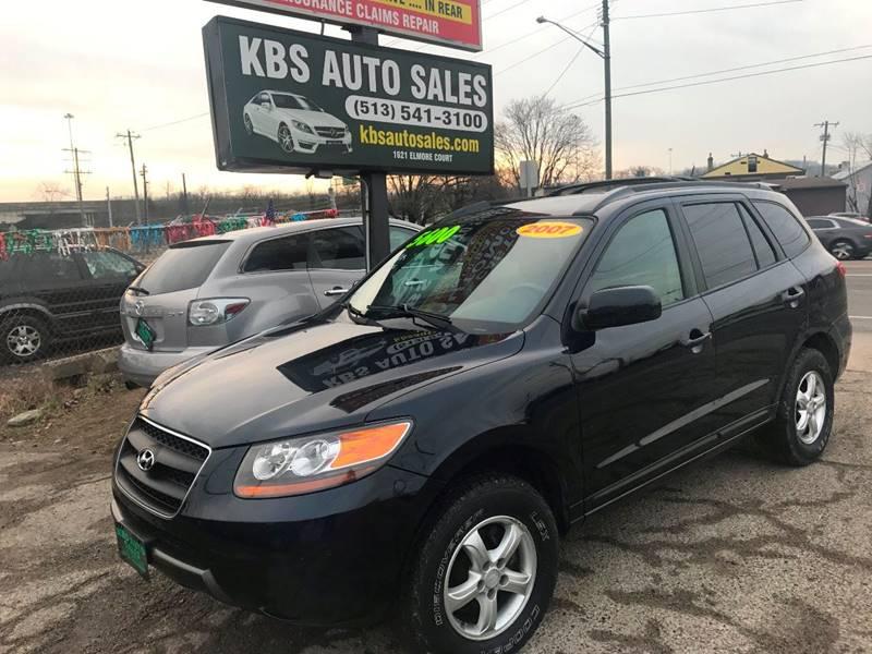 2009 Hyundai Santa Fe for sale at KBS Auto Sales in Cincinnati OH