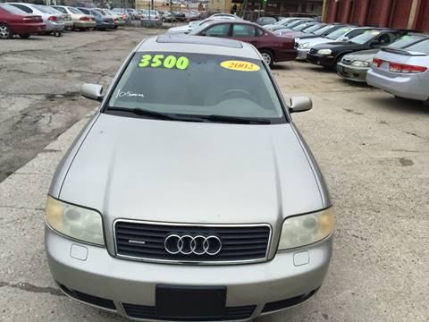 2002 Audi A6 for sale at KBS Auto Sales in Cincinnati OH
