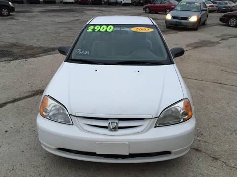2003 Honda Civic for sale at KBS Auto Sales in Cincinnati OH