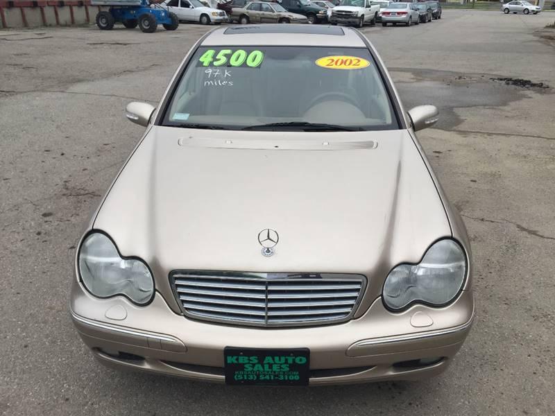 2002 Mercedes-Benz C-Class for sale at KBS Auto Sales in Cincinnati OH
