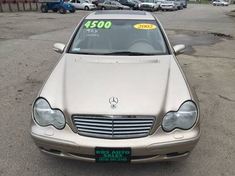 2002 Mercedes-Benz C-Class for sale at KBS Auto Sales in Cincinnati OH
