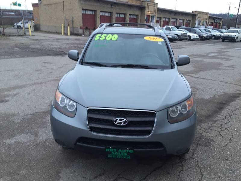 2007 Hyundai Santa Fe for sale at KBS Auto Sales in Cincinnati OH
