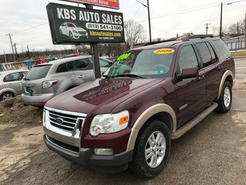 2008 Ford Explorer for sale at KBS Auto Sales in Cincinnati OH