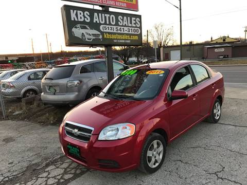 2011 Chevrolet Aveo for sale at KBS Auto Sales in Cincinnati OH