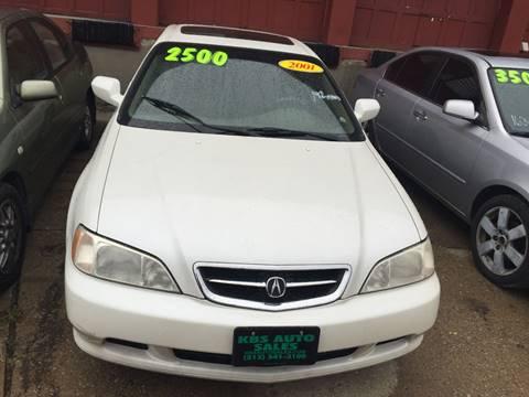 2001 Acura TL for sale at KBS Auto Sales in Cincinnati OH