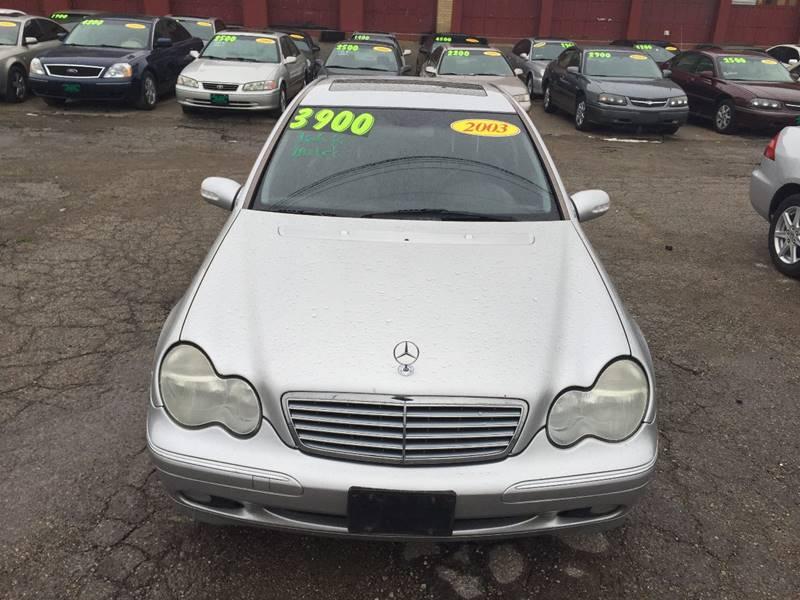 2003 Mercedes-Benz C-Class for sale at KBS Auto Sales in Cincinnati OH