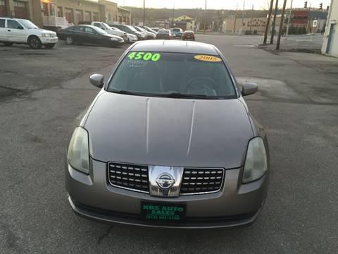 2005 Nissan Maxima for sale at KBS Auto Sales in Cincinnati OH