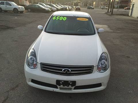 2005 Infiniti G35 for sale at KBS Auto Sales in Cincinnati OH