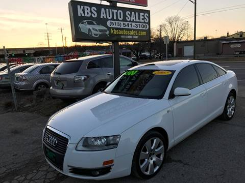 2007 Audi A6 for sale at KBS Auto Sales in Cincinnati OH