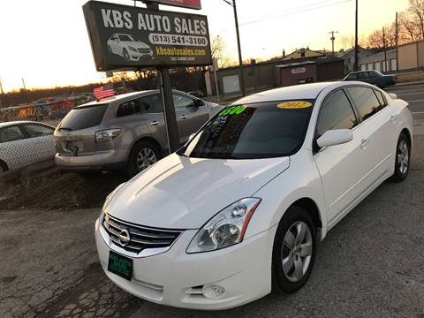 2012 Nissan Altima for sale at KBS Auto Sales in Cincinnati OH