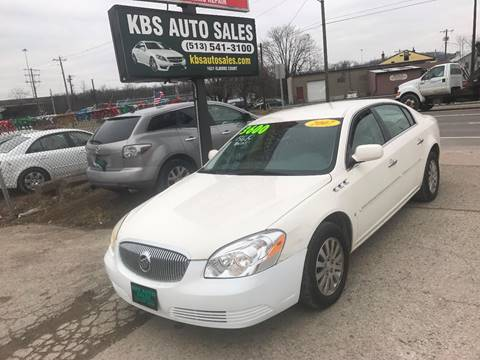 2007 Buick Lucerne for sale at KBS Auto Sales in Cincinnati OH