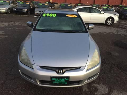 2004 Honda Accord for sale at KBS Auto Sales in Cincinnati OH