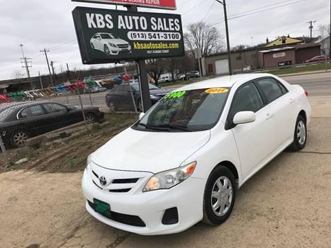 2011 Toyota Corolla for sale at KBS Auto Sales in Cincinnati OH