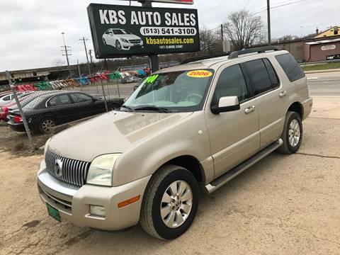 2006 Mercury Mountaineer for sale at KBS Auto Sales in Cincinnati OH