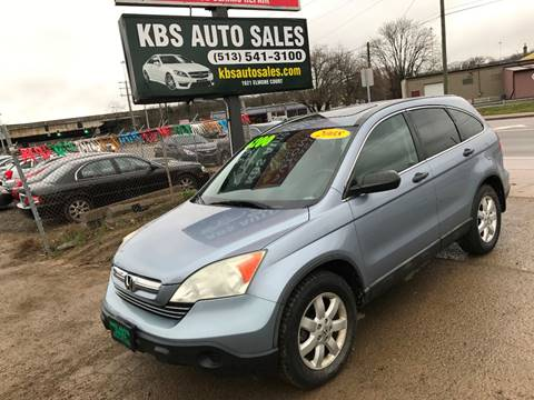 2008 Honda CR-V for sale at KBS Auto Sales in Cincinnati OH