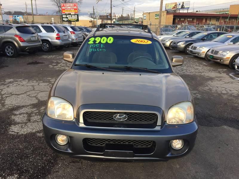 2002 Hyundai Santa Fe for sale at KBS Auto Sales in Cincinnati OH
