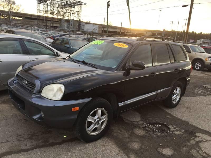 2003 Hyundai Santa Fe for sale at KBS Auto Sales in Cincinnati OH